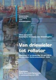 programma - Nederlandse Vereniging voor Arbeidshygiëne