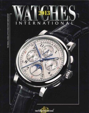 Watches International - Arnold & Son