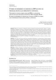 O perfil de enfermeiros fluminenses da ESF segundo um programa ...