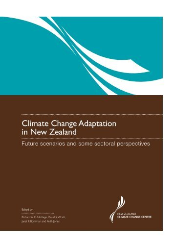 Climate Change Adaptation in New Zealand - NZ Climate Change ...
