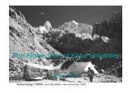 神戸大学山岳会・山岳部について The Alpine Club of Kobe University