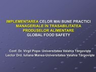 Global Food Safety - ecr-uvt