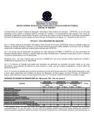 EDITAL Nº 008/2011 - CEFET/RJ – Portal de Notícias