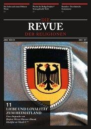 Revue der Religionen - Januar/März 2012 - Ahmadiyya Muslim ...