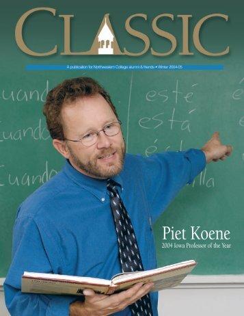 Northwestern College   Classic magazine - Winter 2004-05 - Vol. 76 ...