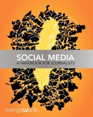 Social Media - a handbook for journalists - Ebu