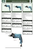 PORTABLE DRILLS & IMPACT WRENCHES Contents - Gibb Tools - Page 5