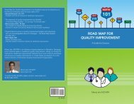 ROAD MAP FOR QUALITY IMPROVEMENT - Physicians' Institute for ...