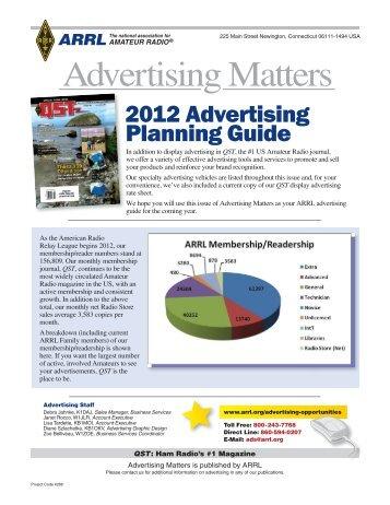 Advertising Matters - ARRL