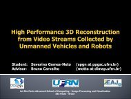 High Performance 3D Reconstruction from Video Streams Collected ...