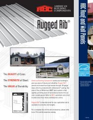 Rugged Rib Flyer - American Building Components