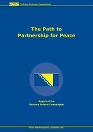 The Path to Partnership for Peace - Office of the High ...