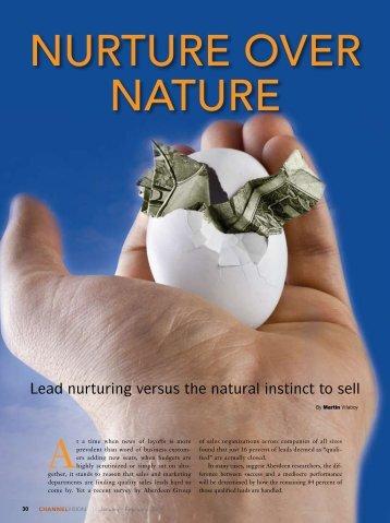 NURTURE OVER NATURE - ChannelVision Magazine