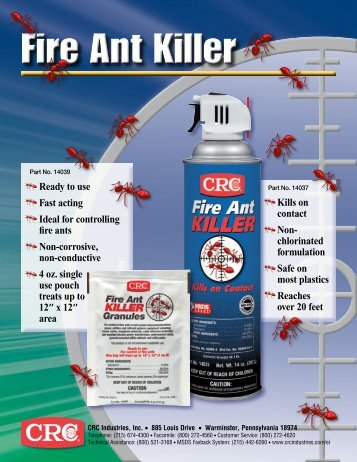 Fire Ant Killer - CRC