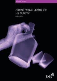 Alcohol misuse: tackling the UK epidemic