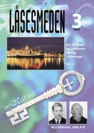 NLs historie, side 4-5 - Foreningen Norske LÃ¥sesmeder