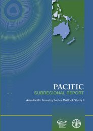 Pacific forests and forestry to 2020 - APAFRI-Asia Pacific ...