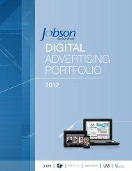 Jobson Optical Digital Advertising Portfolio - 20/20 Magazine