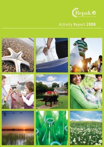 Activity Report 2008 - Repak