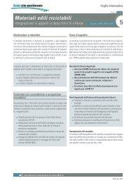 Materiali edili riciclabili - Repubblica e Cantone Ticino