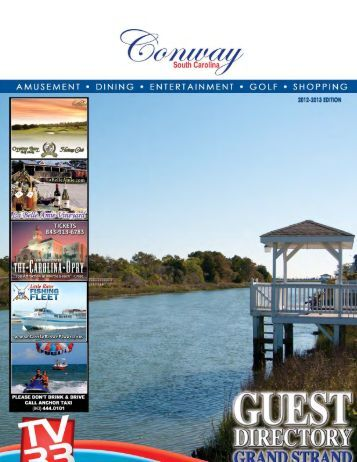 Conway - Myrtle Beach Visitors Guide