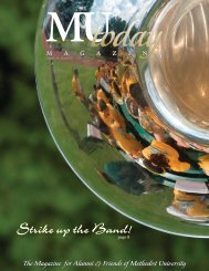 Strike up the Band! - Methodist University