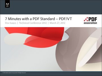 2012-03-27 7 Minutes with PDFVT.indd - PDF Association
