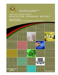 EMIS Summary Report 1387 - Ministry of Education
