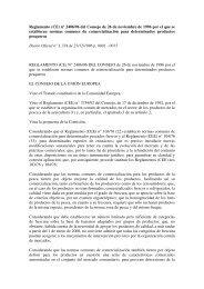 (CE) 2406/1996 - Gobierno de Canarias