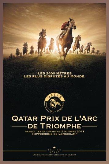 Qatar Prix de l'Arc de Triomphe - France Galop