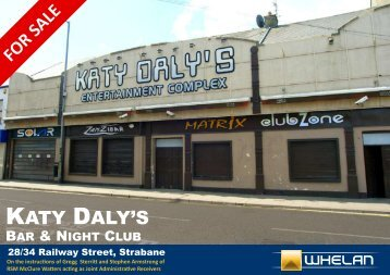 FOR SALE KATY DALY'S - Whelan