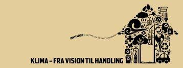Klima – fra vision til handling - Tankegang