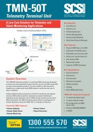 TMN-50T - Security Communication Solutions