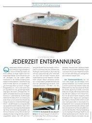 Whirlpool Magazin 02/2007 - Riviera Pool - Whirlpool-zu-Hause.de