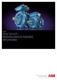 Baja tensión Motores para la industria del proceso - Mercado-ideal
