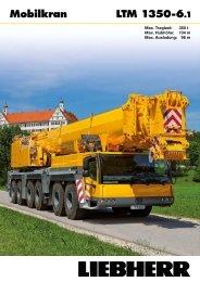 Produktnutzen LTM 1350-6.1 - Liebherr