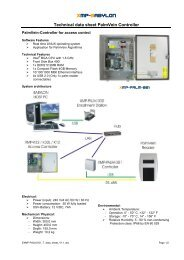 XMP-Palm - AUTEC Gesellschaft für Automationstechnik mbH