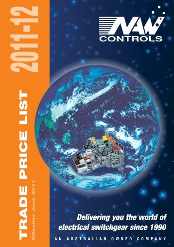 Delivering you the world of electrical switchgear ... - NAW Controls