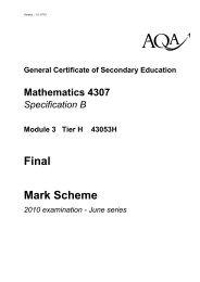 Mod 3H Mark Scheme Jun10.pdf - Gosford Hill School