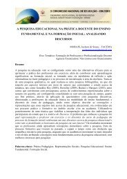 a pesquisa educacional na prática docente do ensino fundamental ...