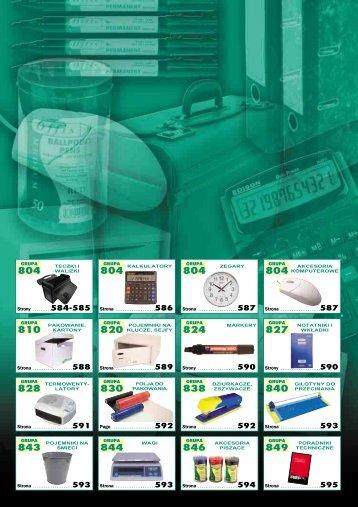 Sekcja 8. Urządzenia i matriały biurowe (pdf) - Gamad