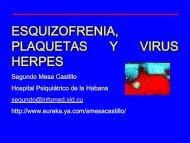 Esquizofrenia, Plaquetas y Herpes