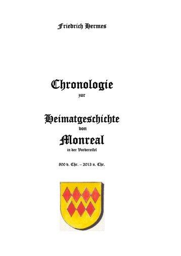 Chronologie Monreal 2012 - Heimatchronik Monreal