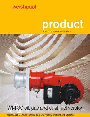 Download brochure 1.8 MB (pdf) - Weishaupt