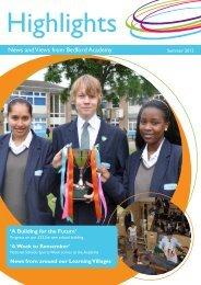 Newsletter Issue 13 - Bedford Academy