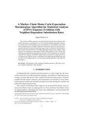 A Markov Chain Monte Carlo Expectation Maximization Algorithm for ...