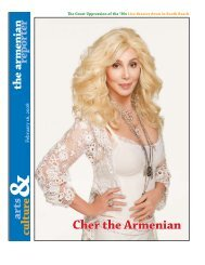 Cher the Armenian - Armenian Reporter