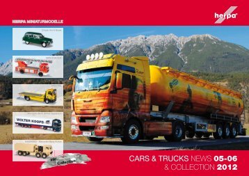 CARS & TRUCKS NEWS 05-06 & COLLECTION 2012 - Herpa
