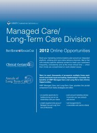2 0 1 2 - Annals of Long Term Care