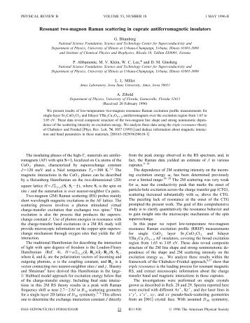 Resonant two-magnon Raman scattering in cuprate ...